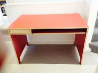 Ikea Red Desk - good for kids' room