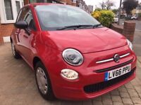 ONLY DONE 329 MILES!! ALMOST BRAND NEW!! FIAT 500 HATCHBACK 3DR 2016 (66)