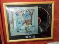 Genesis signed album