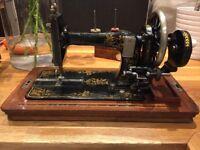 Seidel & Naumann (R W Righton) antique sewing machine