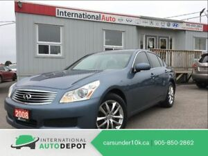 2008 Infiniti G35X LUXURY | AWD | LEATHER | BLUETOOTH