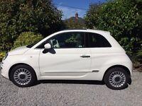 Fiat 500 1.2 Lounge 3dr (start/stop) White