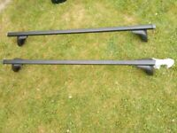 Thule roof bars and Exodus roof box