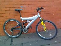 Tespass mountain bike - full suspension !