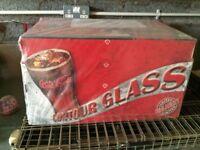 Coca Cola Glasses x 48. Unopened.