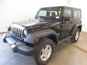 2016 Jeep Wrangler Sport- 4x4! ALLOY WHEELS! ONLY 56K!