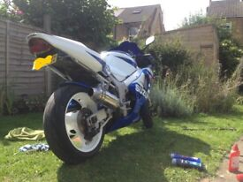 Gsxr600 k2 motorbike / super bike / swap / sports bike