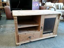 Pine Display Cabinet. Delivery Available