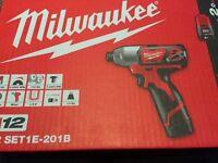 Milwaukee m12 impact drill brand new