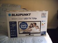 """Blaupunkt 23.6"""" led tv with built in dvd player."""