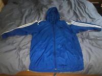 Blue Adidas Windbreaker