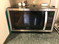 KENWOOD K25MSS11 Solo Microwave - Black & Stainless Steel perfect condition