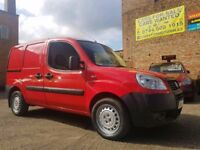 2009 58 Fiat Doblo Van 1.3 JTD - Low Mileage - 3 Months Warranty