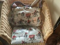 Cath Kidston Cowboy baby changing bag with change mat - pristine condition.