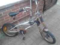 triumph cruiser style child's bike