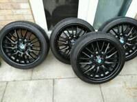 Bmw 18' alloy wheels