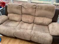 3 seater sofa and single chair