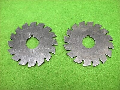 2 Metal Slitting Saw Plain Milling Cutter 1-1516 2 16 Teeth 332 Keyway