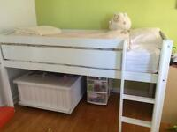 Canwood junior loft bed and mattress