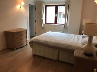 Used bed with mattresses - excellent condition