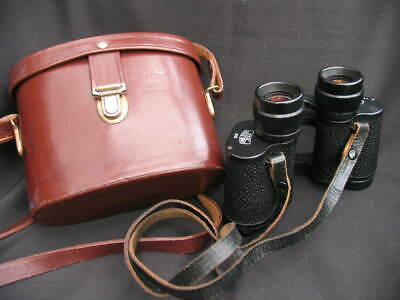 Zeiss Binoculars With original Leather Case.
