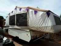 Conway cruiser folding trailer tent