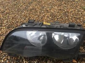 BMW LHD BOSCH HEAD LIGHTS 320D Touring
