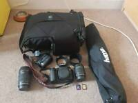 Canon 70D DSLR, lenses and much more