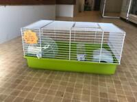 Various hamster cages