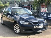 BMW 3 Series 2.0 320d Touring 6 SPEED Full Cream Leather Seats 2 Owners 2 Keys 1 Year MOT HPI CLEAR