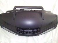 Panasonic Stereo -- CD + Tape Player