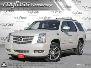 2013 Cadillac Escalade LEATHER. ROOF. NAV. PEARL WHITE