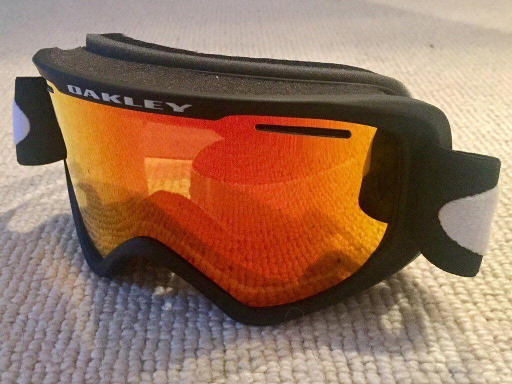 oakley o2 goggles 0dwp  Oakley O2 XM Ski Goggles, Fire Iridium Lens