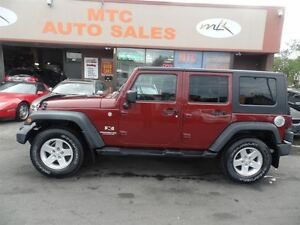 2007 Jeep Wrangler Unlimited X, 4WD
