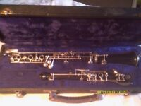 OBOE by F. BUISSON .In TWO PARTS & LONG SLIM CASE ,In EXCELLENT CONDITION Ser No 5312 +++