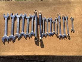 A/F and Imperial spanner's.