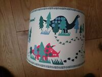 Dinosaur lampshade by John Lewis. In St Leonard's, Exeter.