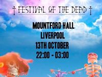 Day of the Dead festival ticket for Liverpool Mountford Hall - 1 ticket spare