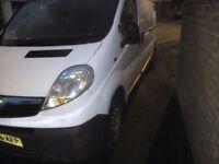 Vauxhall vivaro lwb 1.9cdti
