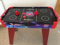 Indoor Air Hockey Table.