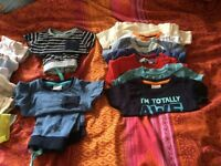 Bundle of Baby boy clothes - short sleave (0-3 months)