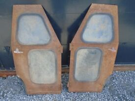 Pair of Sta-Dry cab doors, Very good condition (suit ferguson, fordson, nuffield, International)