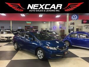 2013 Honda Civic LX AUT0 A/C CRUISE H/SEATS BLUETOOTH 42K
