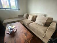 L- shape sofa
