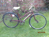 ROYAL ALBERT LADIES THREE SPEED FOR RESTORATION ONE OF MANY QUALITY BICYCLES FOR SALE