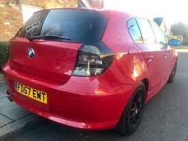 BMW 120D SPORT 2007! RED! AUTOMATIC!!