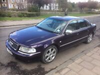 "ICONIC AUDI S8 LPG/Petrol MOT till 28th MAY 2018 PURPLE ""FUTURE COLLECTOR CLASSIC"""