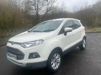 2016 AUTOMATIC FORD ECOSPORT 1.5 PETROL.FULL DEALER SERVICE HISTORY.VERY LOW MILEAGE 21000