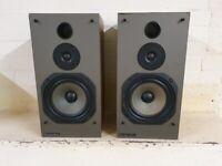 VINTAGE Mordaunt Short MS30 2 Way 100W Bookshelf Speakers (Pair)