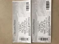 The maccabees tickets x2